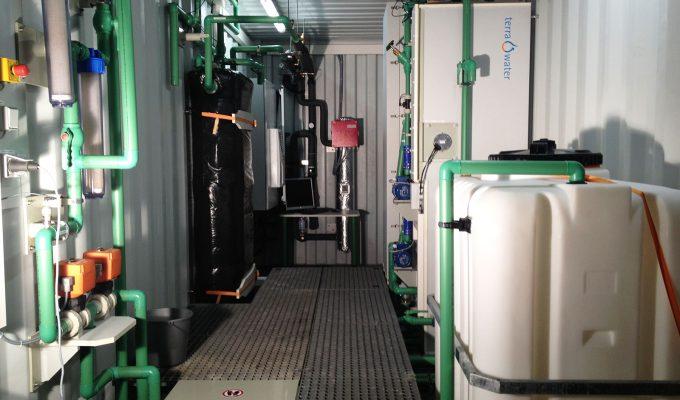 Desalination Plants powered by waste Heat