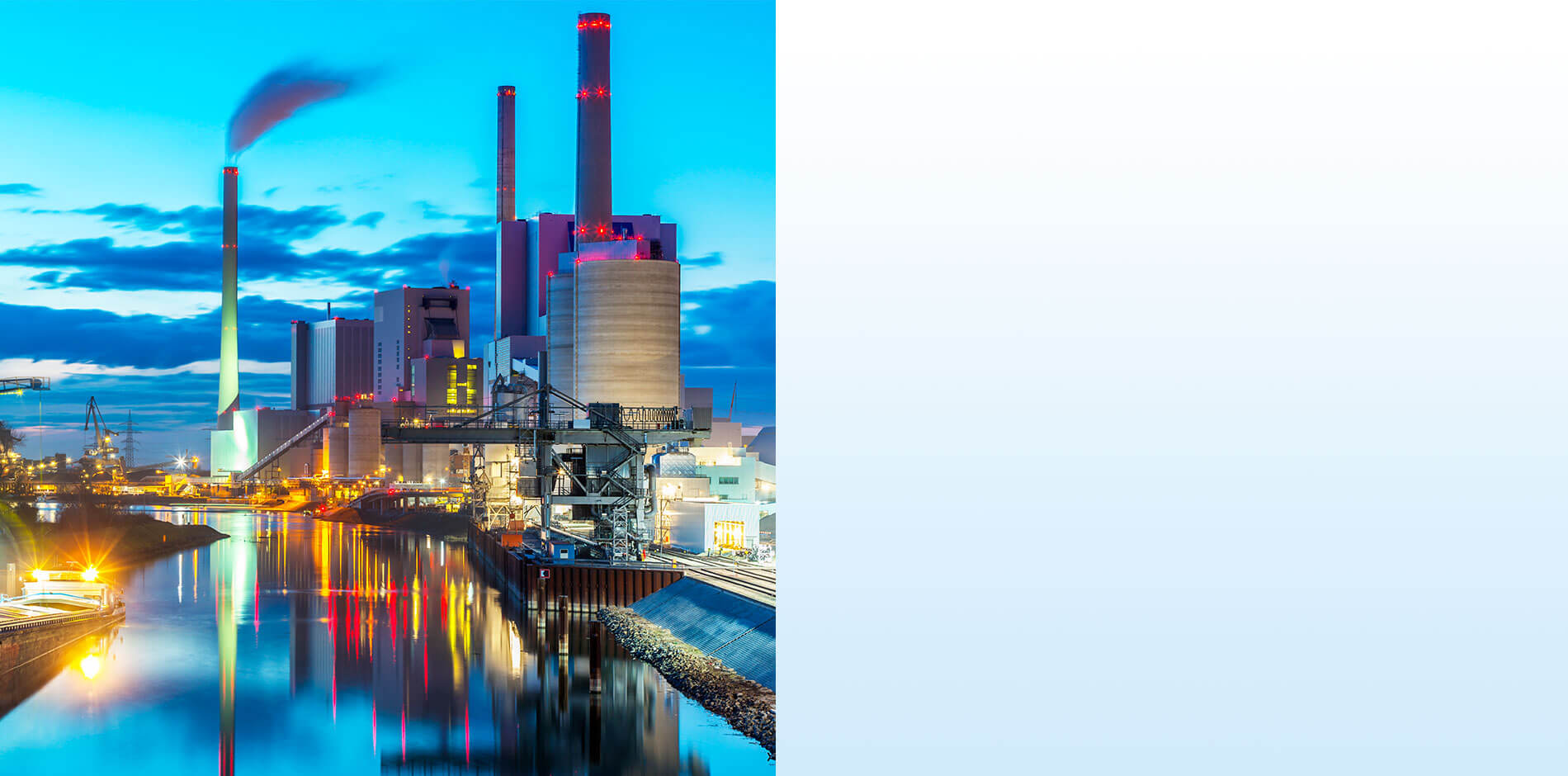Efficiency in Energy and Water: power stations and industrial applications